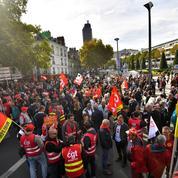 Loi travail: deux graphiques qui montrent l'effondrement de la mobilisation de la rue