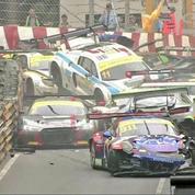Accident mortel à moto et carambolage monstre au Grand Prix de Macao