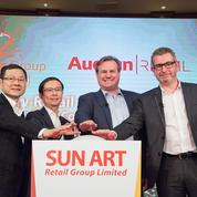 Auchan ouvre les portes de sa filiale chinoise à Alibaba