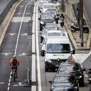 À Paris, le chaos de la fermeture des voies sur berge