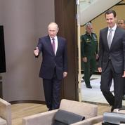 Poutine s'érige en faiseur de paix en Syrie