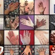 Un point noir sur la main pour dénoncer les agressions sexuelles