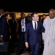 Ouagadougou : des militaires français visés par une grenade avant l'arrivée d'Emmanuel Macron