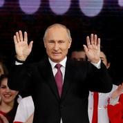 Russie : Poutine candidat à un quatrième mandat en 2018
