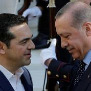 Très attenduen Grèce, Erdogan joue les provocateurs