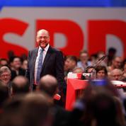 Le SPD pour des négociations ouvertes avec Merkel