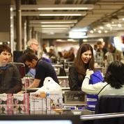 Les achats alimentaires marquent le pas depuis janvier