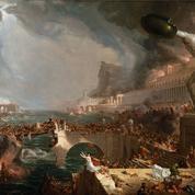 La chute de l'empire romain, de Bertrand Lançon: chute sans fin