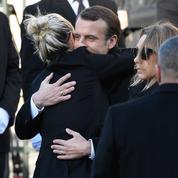 Emmanuel Macron salue «M. Johnny Hallyday», «un destin français»