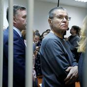 Un ex-ministre russe de l'Économie condamné à huit ans de camp