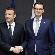 Rencontre Macron, Morawiecki : et si la France et la Pologne relançaient ensemble l'UE ?