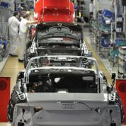 Audi rappelle 875.000 voitures en Europe pour cause de risque d'incendie