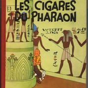 Les Cigares du Pharaon ,une édition rare de Tintin aux enchères