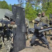 Ukraine : les officiers de l'armée de Kiev formés à l'école américaine