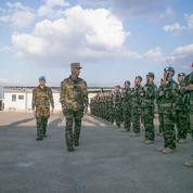 Le général Lecointre réveillonne au Sud-Liban avec les Casques bleus français