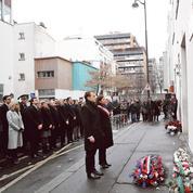 Le sobre hommage de Macron à Charlie Hebdo et l'Hyper Cacher