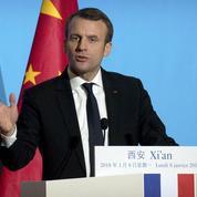 En Chine, Macron promet de revenir «au moins une fois par an»