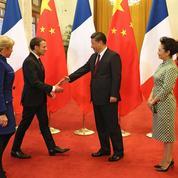 Macron et Xi s'affichent unis face aux défis du monde