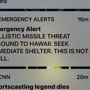 Hawaï : un employé se trompe de bouton et envoie une alerte au missile