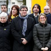 Catalogne : l'idée d'une présidence virtuelle de Puigdemont divise