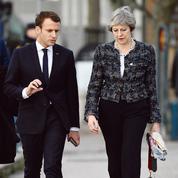 L'Élysée veut renforcer l'axe Paris-Londres face au Brexit