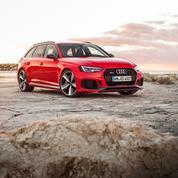 Audi RS4 Avant ,la preuve par six