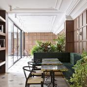 Les Passerelles, jolie table de l'hôtel Parister
