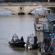 Crue de la Seine : pic attendu vendredi à Paris, au même niveau qu'en juin 2016
