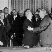 Traité de l'Élysée : l'accolade historique du 22 janvier 1963