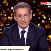 PSG, Aulas, Laporte : Nicolas Sarkozy fait son show