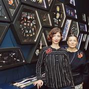 Anne-Laure Lesquoy etMarie Macon, militantes de la broderie