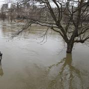 La crue de la Seine a causé moins de dégâts qu'en 2016