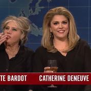 Brigitte Bardot et Catherine Deneuve ridiculisées dans Saturday Night Live