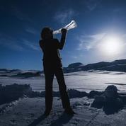 Musique de chambre froide sur instruments de glace en Norvège