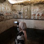 La tombe d'une prêtresse du temps des pharaons mise au jour
