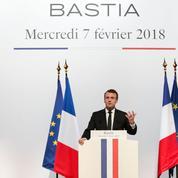 Corse: les Français approuvent Macron