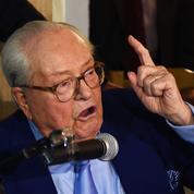 Comment Jean-Marie Le Pen a résisté à toutes les attaques du FN en justice