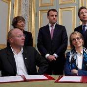 Patrimoine: Macron reprend la main et met Bern et Nyssen d'accord