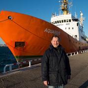 Klaus Vogel, fondateur de l'ONG SOS Méditerranée et sauveteur en mer