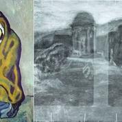Découverte d'un paysage mystérieux sous un Picasso de la période bleue