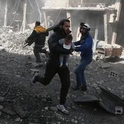 Syrie : au moins 200 civils tués dans des bombardements dans la Ghouta orientale