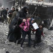 Syrie: derrière l'enfer des raids aériens sur la Ghouta, des négociations pour faire cesser le massacre