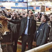 Édouard Philippe en première ligne face aux agriculteurs