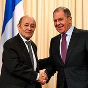 Le Drian presse Moscou sur la Syrie