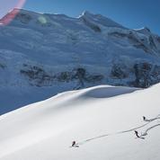 Verbier, grand ski de printemps dans le Valais