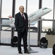 Dassault lance un nouveau jet, le Falcon 6X