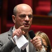 Jean-Michel Blanquer sous le regard de ses prédécesseurs