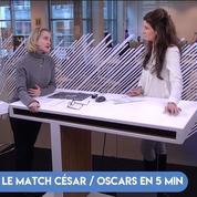 Les enjeux des César et des Oscars 2018