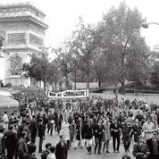 Sur les pavés de Mai 68, la droite