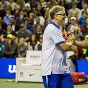 Federer et Bill Gates réunis pour une exhibition à San José